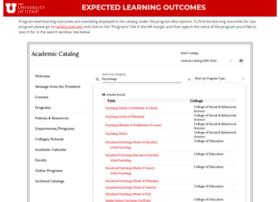 learningoutcomes.utah.edu