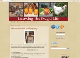 learningthefrugallife.blogspot.com