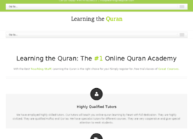 learningthequran.com