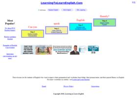 learningtolearnenglish.com
