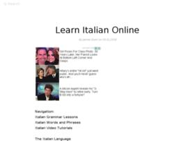 learnitalian.elanguageschool.net