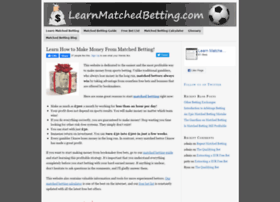 learnmatchedbetting.com