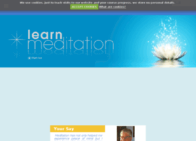 learnmeditationonline.org