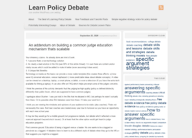 learnpolicydebate.wordpress.com