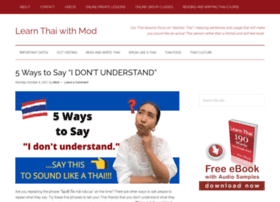 learnthaiwithmod.com