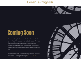 learntoprogram.tv