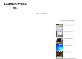 learnunity2d.com