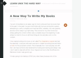 learnunixthehardway.com