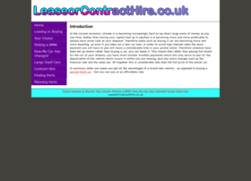 leaseorcontracthire.co.uk
