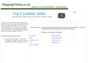 leather-accessories-books-diaries.shoppingvariety.co.uk