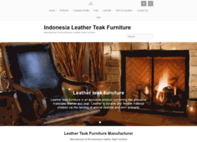 leather-teakfurniture.com
