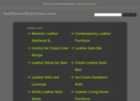 leatherandicecream.com