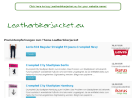 leatherbikerjacket.eu
