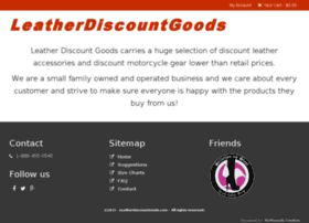 leatherdiscountgoods.info