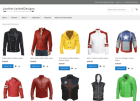 leatherjacketdesigns.com