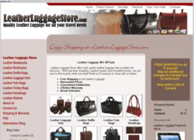 leatherluggagestore.com