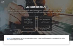 leatherrecliner.net