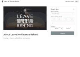 leavenoveteranbehind.kindful.com