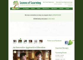 leavesoflearning.org