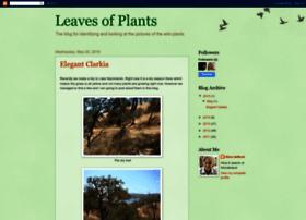 leavesofplants.blogspot.com