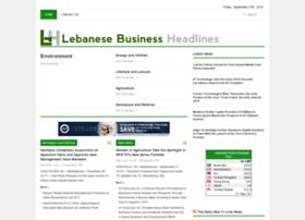 lebanesebizheadlines.com