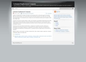 lebanonemploymentcompany.wordpress.com