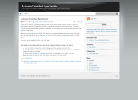 lebanonfurnishedapartments.wordpress.com