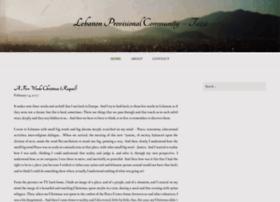 lebanonprovisionalcommunity.wordpress.com