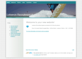 Lebanonrecruitmentagency.jimdo.com