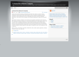 lebanonrecruitmentcompany.wordpress.com