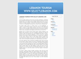 lebanontourism.wordpress.com