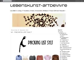 lebenskunst-artdevivre.blogspot.de