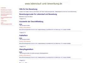 lebenslauf-und-bewerbung.de