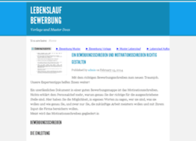 lebenslaufbewerbung.com