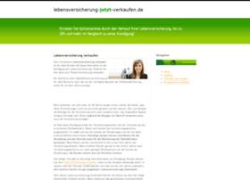 lebensversicherung-jetzt-verkaufen.de