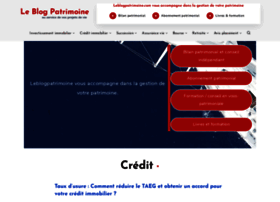 leblogpatrimoine.com