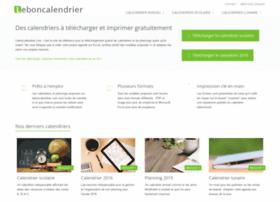 leboncalendrier.fr