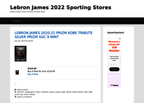 lebronjames.sportingstores.net