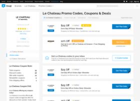 lechateau.bluepromocode.com