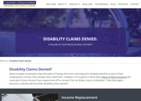 leckerdisabilitylawyers.ca