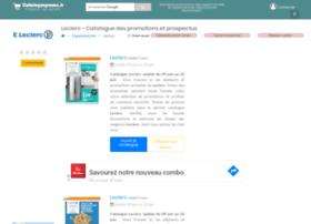 leclerc.cataloguepromo.fr