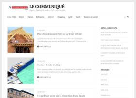 lecommunique.com