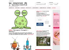 lecourrierdelarchitecte.com