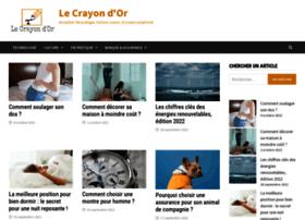 lecrayondor.com