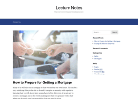 lecture-notes.co.uk