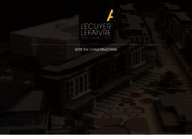 lecuyerlefaivre.com