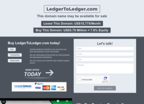 ledgertoledger.com