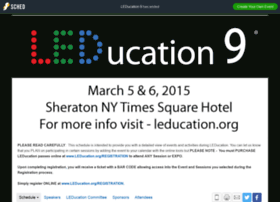 leducation92015.sched.org