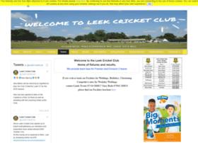 leek.play-cricket.com