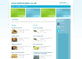 leekrecipes.co.uk